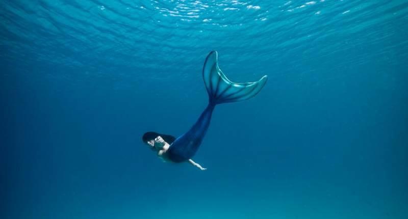 reizen als meermin is zwemmen!