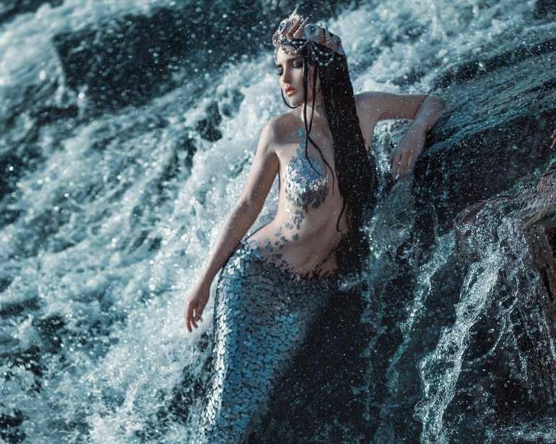 zeemeerminnen moeten sterk zijn!