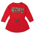 Name It-collectie Jurkje Lavoga (true red)  - Mini girls NITEXPAN