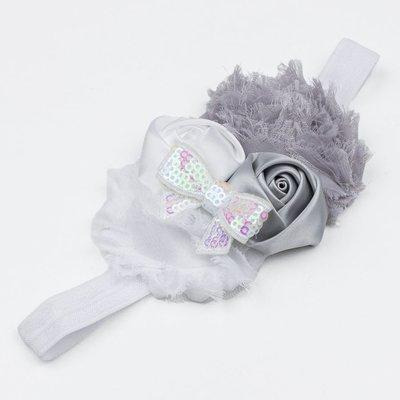 Haarbandje grijs