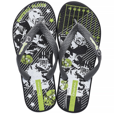 Ipanema Slippers Temas (black/grey) - IpS19mb