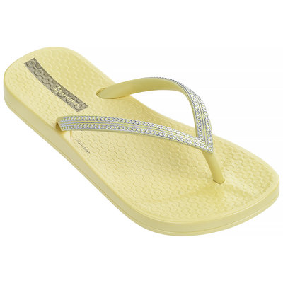 Ipanema Slippers Anatomic Mesh (yellow/silver) - IpS19mg