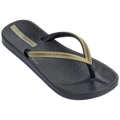 Ipanema Slippers Anatomic Mesh (black/gold) - IpS19mg