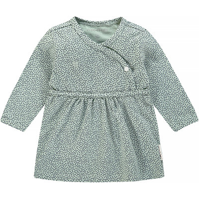 Noppies Jurkje Mattie (grey mint) - girl NOOS