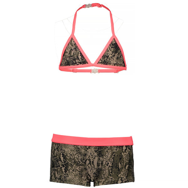Just Beach Bikini (snake beige) - kids girl - JBs20