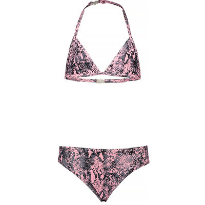 Just Beach Bikini (snake pink) - kids girl - JBs20