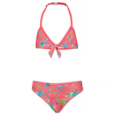 Just Beach Bikini (splash coral) - kids girl - JBs20