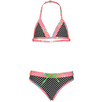 Just Beach Bikini (dot black) - kids girl - JBs20