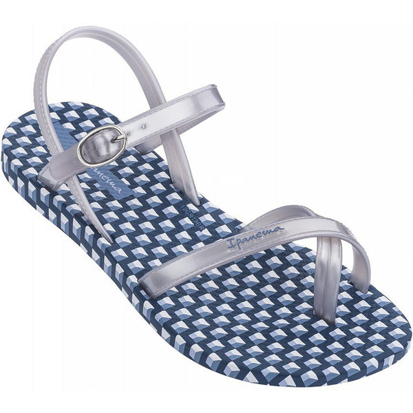 Ipanema Slippers Fashion Sandal (blue/silver) - girl - IP20g
