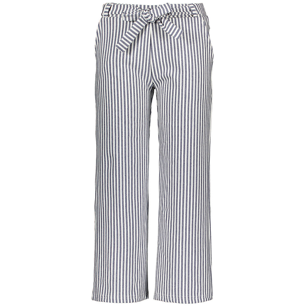 Broek striped (navy)