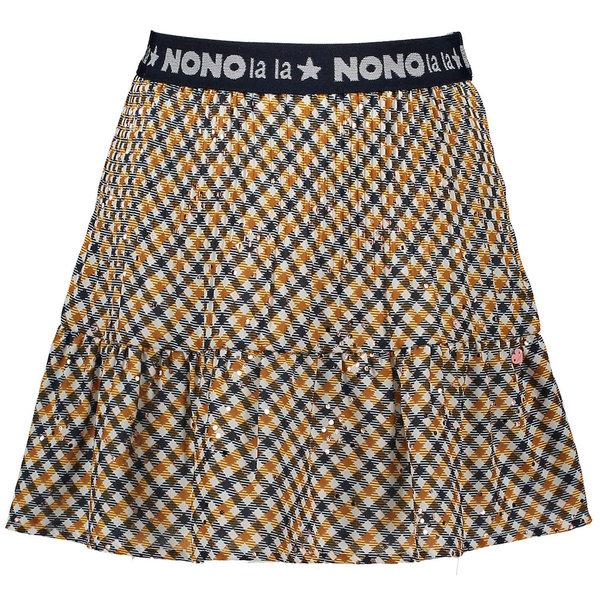 Nono Rokje Nulan pleated check (cinnamon)