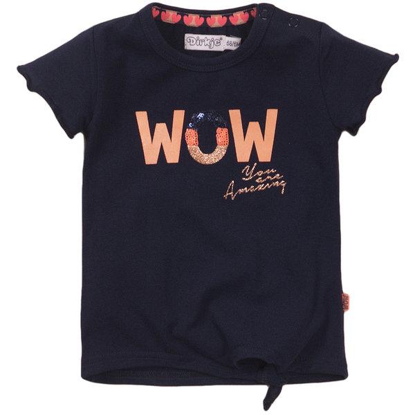 Dirkje T-shirt Wow (navy)