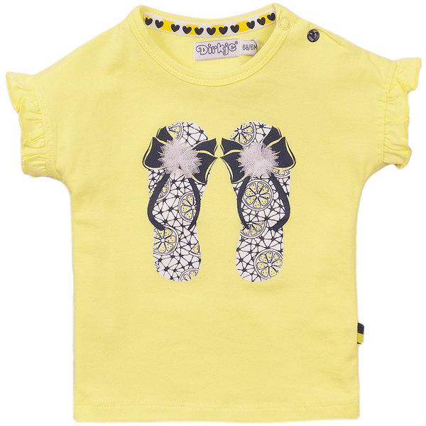 Dirkje T-shirt Sunny (yellow)
