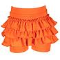 Le Chic Kort broekje Ruffle (tangerine sunset)