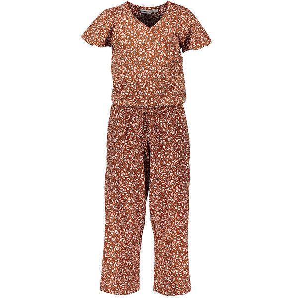 Moodstreet Jumpsuit Flower (toffee)