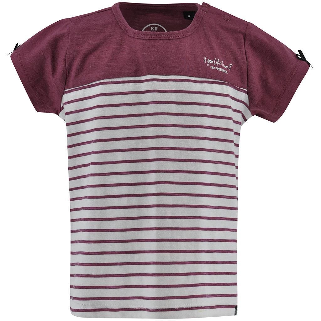 T-shirt Belle (off-white stripe)