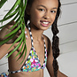 Just Beach Bikini met shorts (tropical)