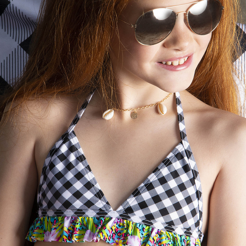 Just Beach Bikini Ruffles (check)