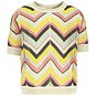 Like Flo Gebreide top (zigzag)