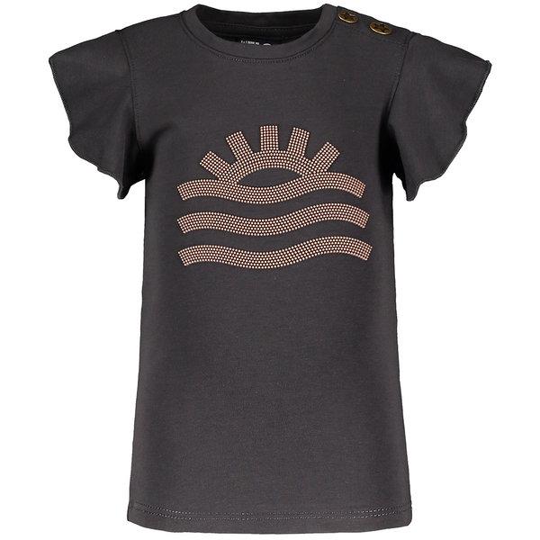 Like Flo T-shirt Ruffle (antra)