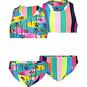 Just Beach Bikini REVERSIBLE (tropical palms)