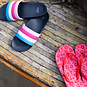 Quapi Slippers Flox (shell pink leopard)