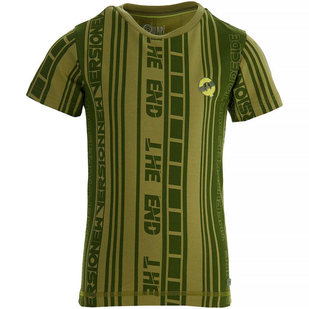 T-shirt Fain (green mid stripe)