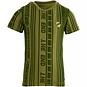 Quapi T-shirt Fain (green mid stripe)