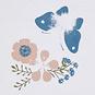Name It Drie rompertjes ls Flower (pale mauve)