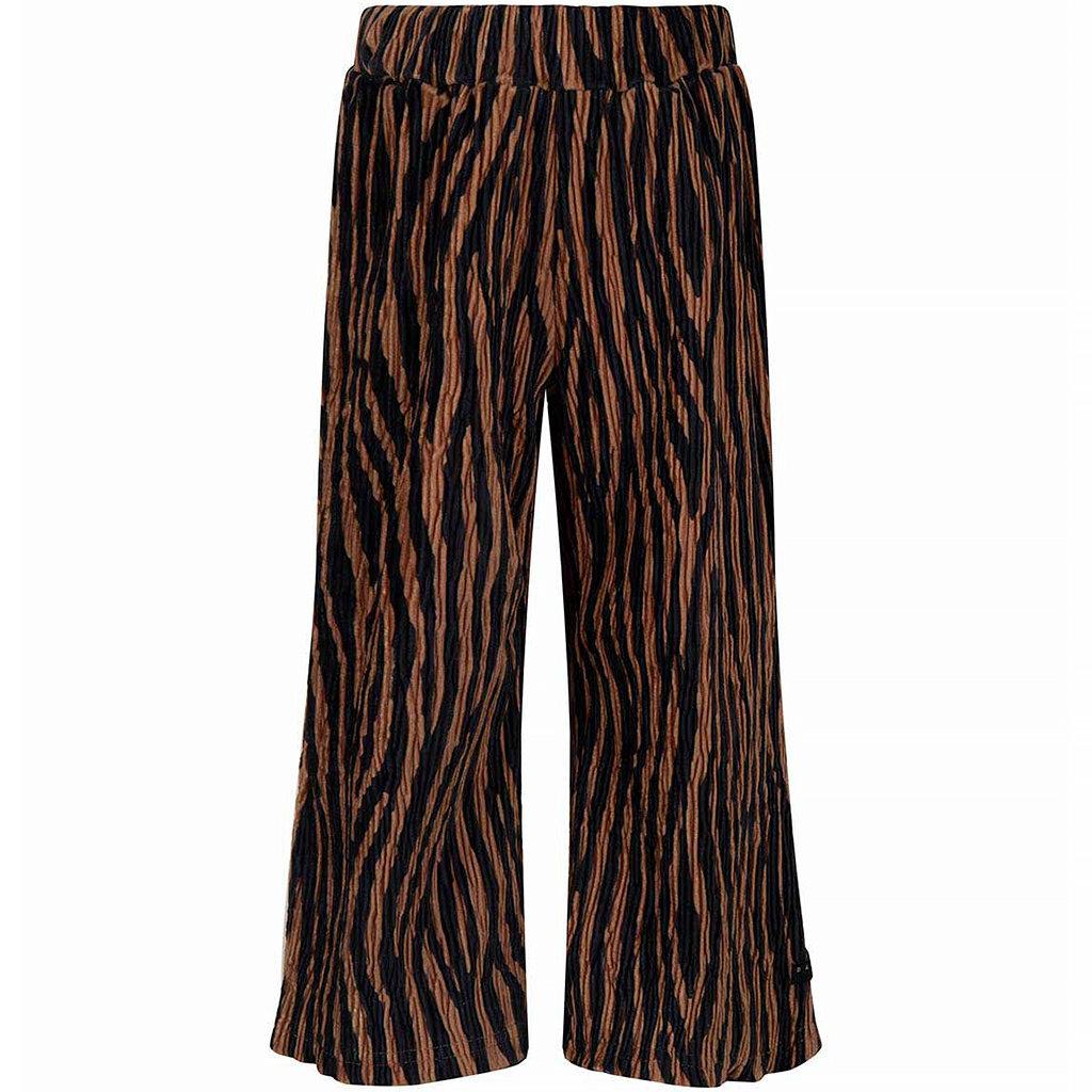 Broek culotte zebra (dark ochre)