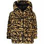 Like Flo Winterjas REVERSIBLE hoodie (zebra)