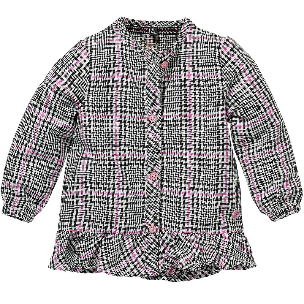 Blouse Liva (pink candy check)