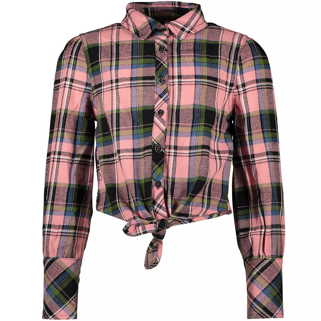 Blouse knot (candy check)