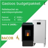 GNC Green Nordic Comfort  Budgetpakket: Pelletkachel en Warmtepompboiler