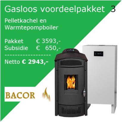 GNC Green Nordic Comfort  Voordeelpakket 3: Pelletkachel en Warmtepompboiler