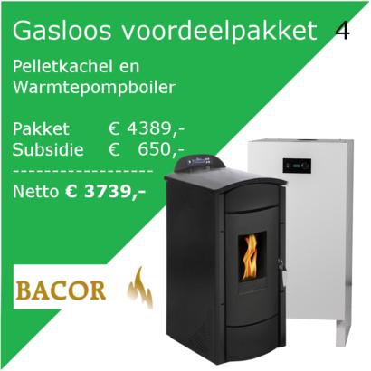 GNC Green Nordic Comfort  Voordeelpakket 4: Pelletkachel en Warmtepompboiler