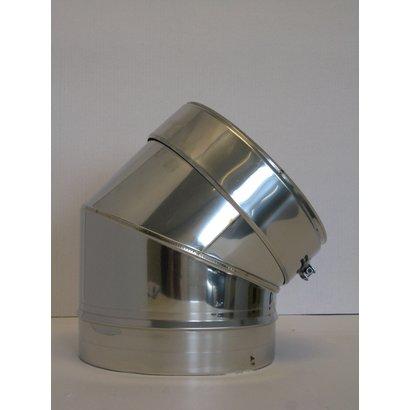 Thermovast Segmentbocht 45 gr. 130mm