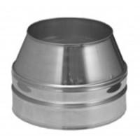 Mondingsafsluiting konisch 150 mm