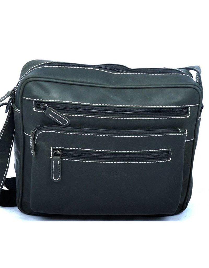 5010bf6146 Arrigo Zip it shoulderbag - Shoulder bag of buffalo leather - Arrigo  leather goods