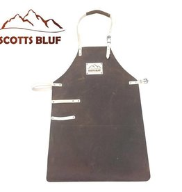 Scotts Bluf BBQ Schort Scottsbluf bruin