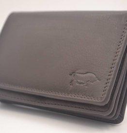 Arrigo Olifant grijze Anti Skim portemonnee