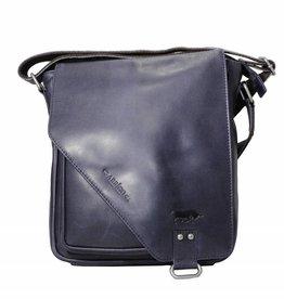 Arrigo CLICK IT TWICE- Donker blauw schoudertas- leren tas- mooie tas- luxe tas-arrigo-026