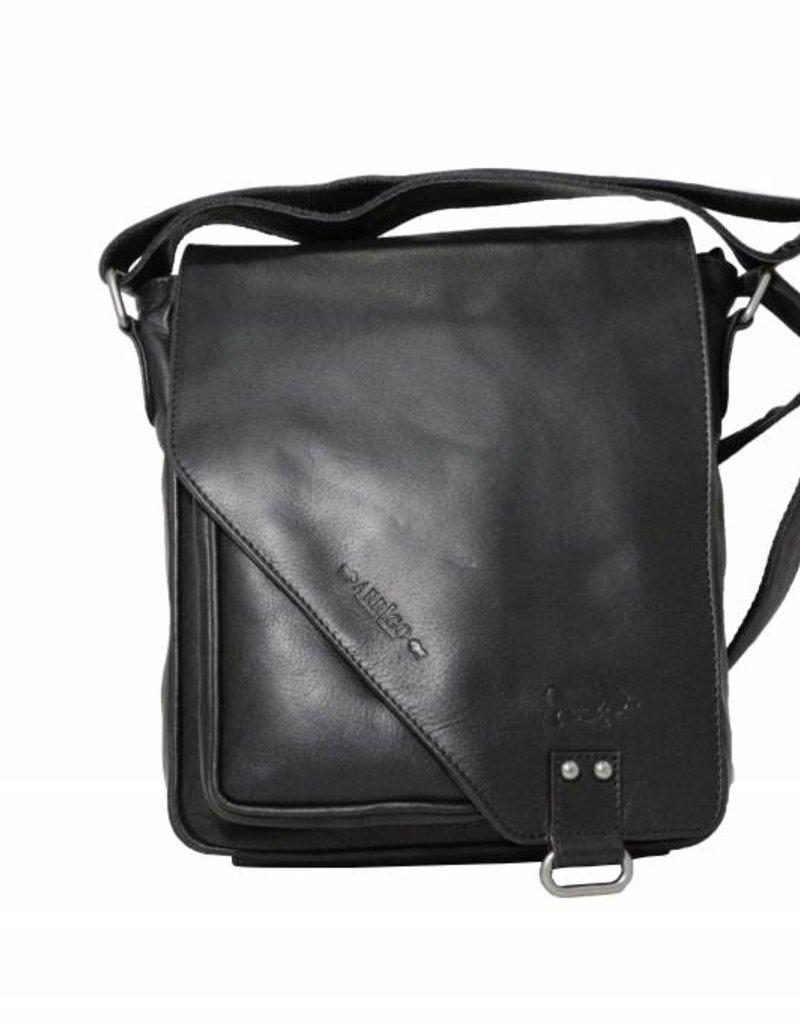 bdad82ebfd CLICK IT TWICE- black shoulder bag- leather bag-nice leather bag- Arrigo  026 black - Arrigo leather goods