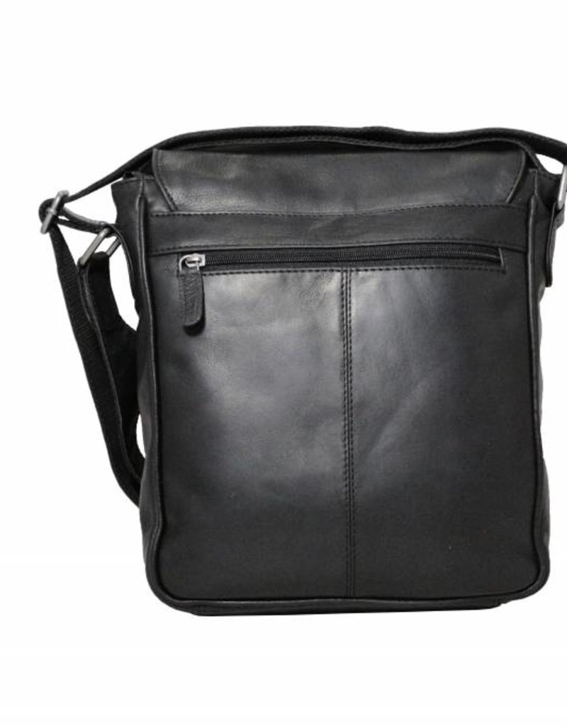 f8528d7560a5d ... Arrigo CLICK IT TWICE- black shoulder bag- leather bag-nice leather bag-  ...