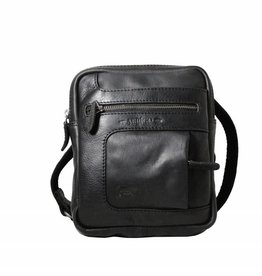 Arrigo Genuine leather shoulder bag black