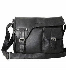 Arrigo Arrigo schouder tas zwart