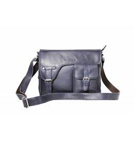 Arrigo shoulder bag dark blauw, leather bag- nice leatherbag- luxe beg-arrigo-3174