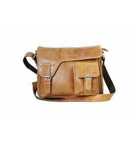 Arrigo shoulder bag natural leather bag- nice leatherbag- luxe beg-arrigo-3174