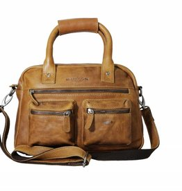 Arrigo Arrigo cowboysbag natural leather bag- nice leatherbag- luxe beg-arrigo-66045