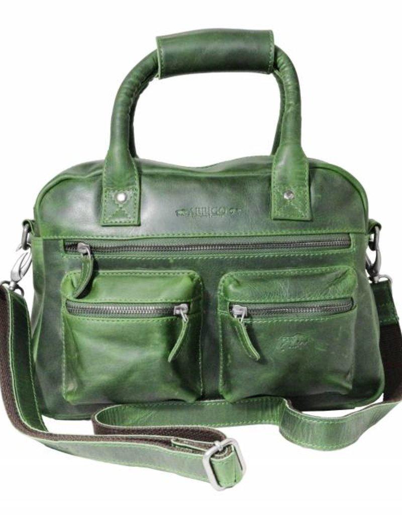 d72ee7c1374 Arrigo cowboysbag green leather bag- nice leatherbag- luxe beg-arrigo-66045  - Arrigo leather goods